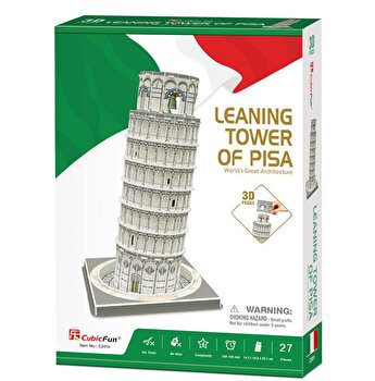 Puzzle 3D - Turnul Din Pisa, 27 piese
