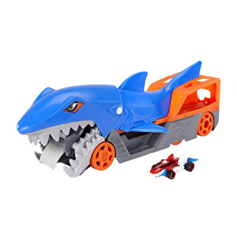 Set de joaca Hot Wheels, Transportor Rechin