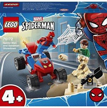 LEGO Super Heroes Spider-Man - Confruntarea dintre Omul paianjen si Sandman 76172
