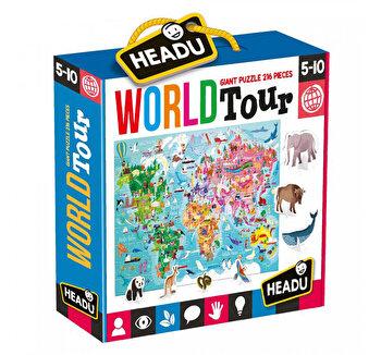 Puzzle Headu - Turul Lumii