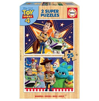Puzzle Toy Story 4, 2 x 25 piese