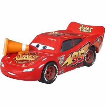 Masinuta metalica Fulger McQueen cu jalon Disney Cars Metal