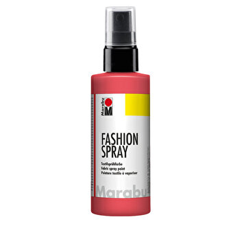 Vopsea spray pentru materiale textile Marabu, 50 ml, Roz Flamingo