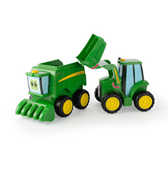 John Deere - Set Tractoras, Prietenii de la ferma