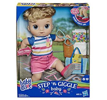 Baby Alive - Papusa interactiva Bebe Primii pasi, baietel