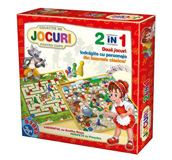 Joc 2 in 1 - Pinocchio+Scufita