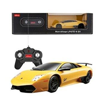 Masina cu telecomanda Lamborghini Murcielago LP670, galben, scara 1 la 24
