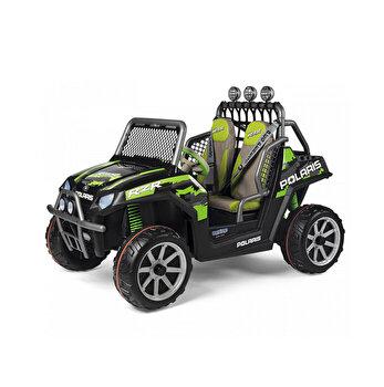 Masina electrica Polaris Ranger RZR Green Shadow, 24V, negru/gri/verde
