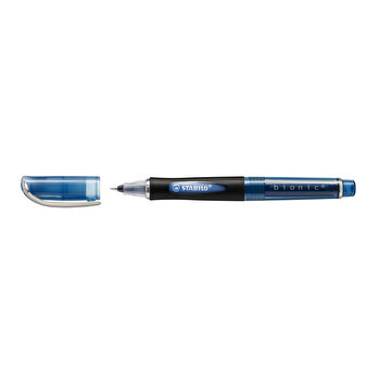 Roller cu cerneala, Stabilo, Bionic, 0.4 mm, plastic, albastru