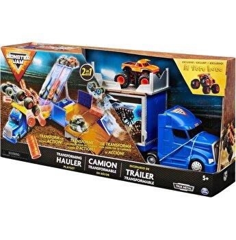 Monster Jam, Set de joaca Camionul convertibil in arena