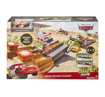 Cars - Set de joaca Pista de curse