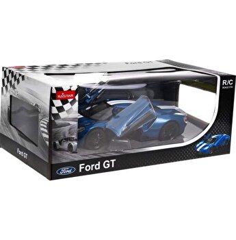 Masina cu telecomanda Ford GT, albastru, scara 1 la 14