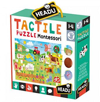 Montessori Puzzle Headu Tactil