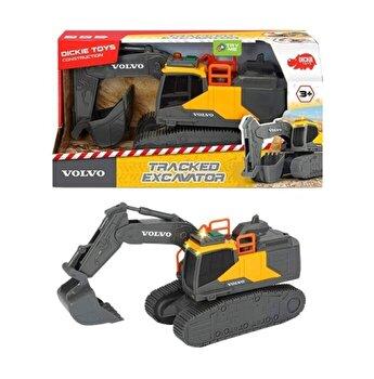 Excavator Volvo cu senile Dickie Toys