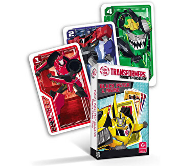 Carti de joc Transformers Black Peter poza
