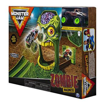 Monster Jam, set cascadorii Doboara-l pe zombie
