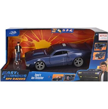 Masinuta metalica Fast and Furious - Spy Racers Tony's Ion Thresher, scara 1:16