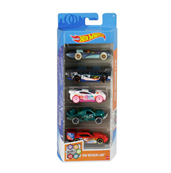 Set 5 masini, Hot Wheels Lab
