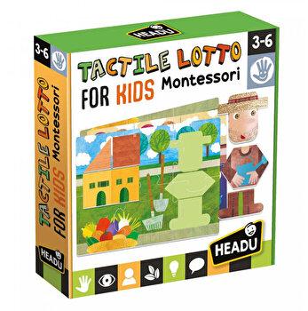 Montessori Puzzle Tactil Headu - Ferma