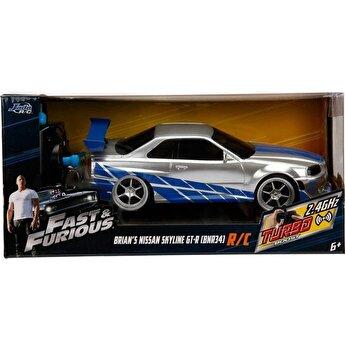 Fast and Furious - Nissan Skyline GTR, scara 1:24