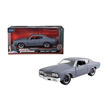 Masinuta metalica Fast and Furious - Roman's Chevy Camaro, scara 1:24