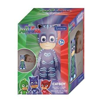 Lampa de veghe 3D, Eroi in Pijama - Catboy