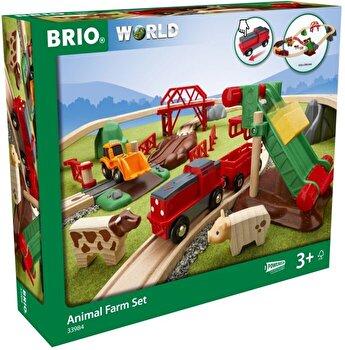 Set animale de la ferma Brio