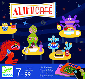 Joc de strategie Alien cafe