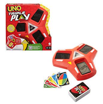Carti de joc Uno Triple Play