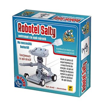 Set educativ - Robotelul Salty