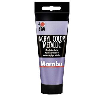 Culoare acrilica Marabu, 100 ml, Violet Metalizat