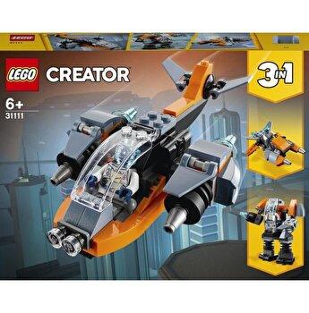 LEGO Creator 3 in 1 - Drona cibernetica 31111