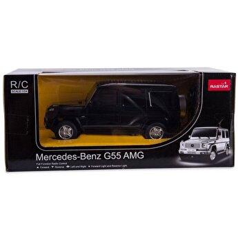 Masina cu telecomanda Mercedes Benz G55, negru, scara 1 la 24