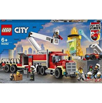 LEGO City - Unitatea de comanda a pompierilor 60282