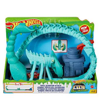 Cursa cu obstacole - Atacul scorpionului, Hot Wheels City