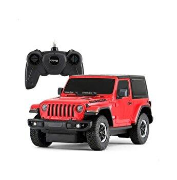 Masina cu telecomanda Jeep Wrangler Rubicon, visiniu, scara 1 la 24