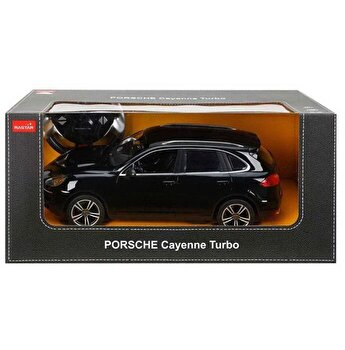 Masina cu telecomanda Porsche Cayenne Turbo, negru, scara 1 la 14