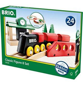 Jucarie din lemn Brio - Trenulet clasic