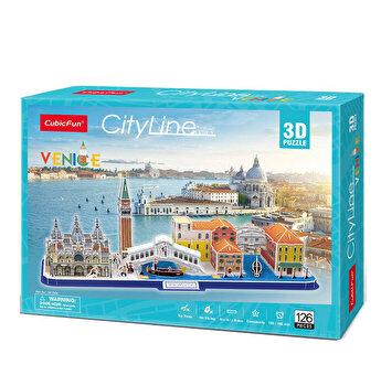 Puzzle 3D - Venetia, 126 piese