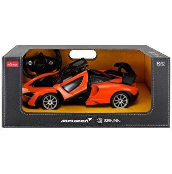 Masina cu telecomanda McLaren Senna, portocaliu, scara 1 la 14