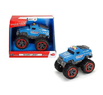 Masina de interventii Dickie Toys, SWAT cu roti mari