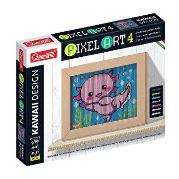Set Quercetti - Pixel Art, Axolotl