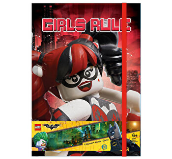 LEGO Batman Movie, Agenda Harley Quinn/Batgirl