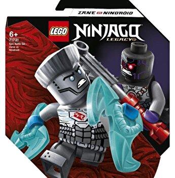 LEGO NINJAGO - Set de lupta epica - Zane contra Nindroid 71731