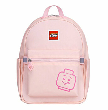 Rucsac Casual LEGO Tribini Joy Small - design Emoji, roz pastel