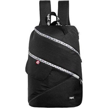 Rucsac Zipit Looper Premium - negru cu gri