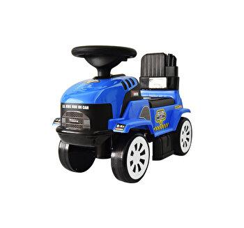 Ride-on Tractoras, albastru