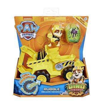 Patrula Catelusilor, Set vehicul cu catelus Rubble si figurina Dino surpriza