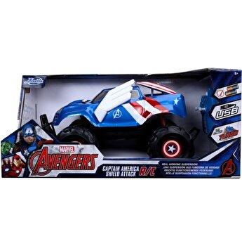 Masinuta cu telecomanda RC Captain America, scara 1:14