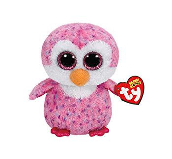 Glider pinguinul roz - plus Ty, 15 cm, Boos